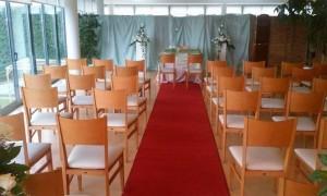 A cerimonia de casamento